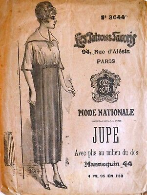 1910s Mode Nationale Sewing Pattern 3644