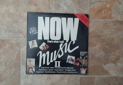 "Vinyl Record 12"" Now That's What I call music II  inc David Bowie & Madness"