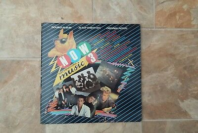 "Vinyl Record 12"" Now That's What I call music 3 inc Style Council & Queen"