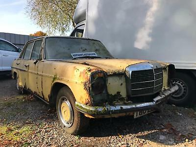 1973 Mercedes-Benz 220 W115 SPARES OR REPAIR BARN FIND PROJECT IDEAL FOR EXPORT