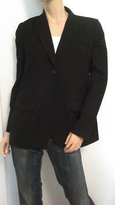 Black A Pea In The Pod Maternity Blazer Suit Top Jacket Small Sm S