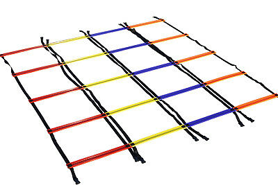 SET 4x Rutschfeste Design-a-Ladder Koordinationsleiter 4 Meter ANTI SKID 4 m 4m