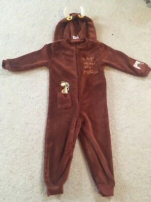 lovely cosy gruffalo onsie age 3-4