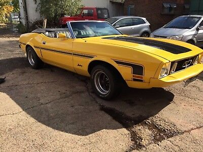 1973 Ford Mustang Convertible V8 Auto