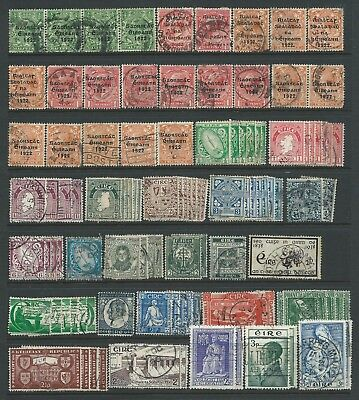 Collection of mostly good used Ireland stamps.