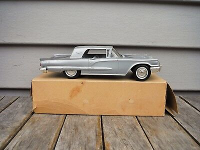 Vintage 1960 Ford Thunderbird Dealer Promo Car With Box Excellent Condition Nr!