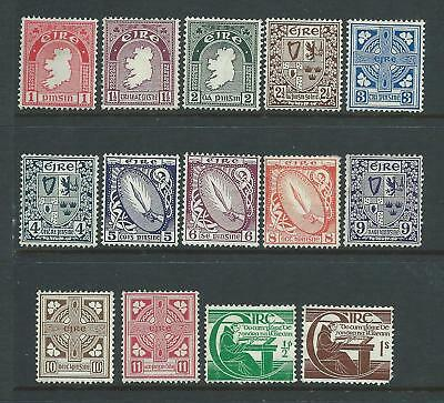 Collection of mounted MINT Ireland stamps.