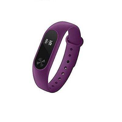 CINTURINO / COVER x XIAOMI MI BAND 2 - VIOLA PURPLE - IDEA REGALO - MIBAND 2