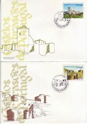 Portugal - Special Events, People & Anniversaries (4no. PO/Other  FDC's) 1982-88