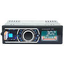 Car Radio Stereo Head Unit Player MP3/USB/SD/AUX-IN/FM  Dash IPod with Bluetooth