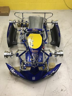Brand new Praga Cadet Go Kart Rolling Chassis with Multi Drilled Engine Mount