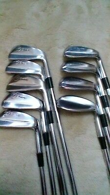 vintage seve blade golf clubs RH used,3 to sand iron