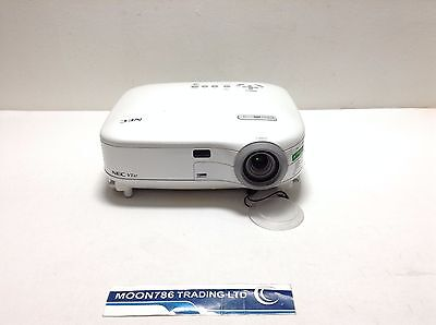 Nec Vt47 Lcd Projector Used 1561H Lamp Hours 21% Remain Image Dull | Ref:1237