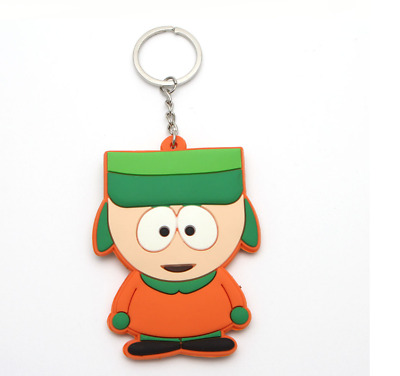 South park keychain comedy central kyle action figure key chain game key ring