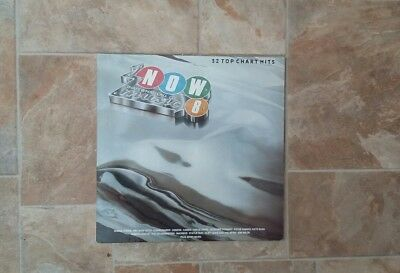 "Vinyl Record 12"" Now That's What I call Music 8 inc Pet shop Boys & Genesis"