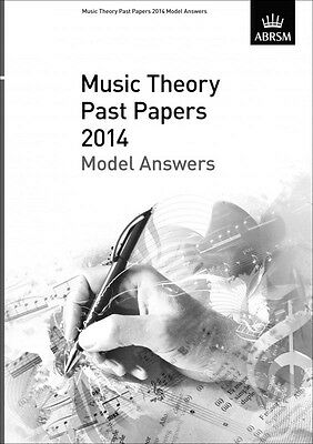BEST PRICE !  ABRSM Music Theory Past Papers 2014 Model Answers Grades : 3, 4, 7