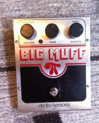 Electro-Harmonix Big Muff Guitar Effects Pedal- Good condition