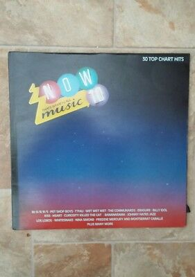 "Vinyl Record 12"" Now That's What I call Music 10 inc Kiss, Heart & Squeeze"