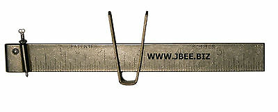 "JBee Wimco SC-1  6"" stainless steel scriber sheet metal Quick set AMERICAN MADE"