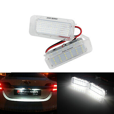 Feux LED De Plaque d'Immatriculation Ford Focus 2&3 Kuga Ranger S-MAX Jaguar XF