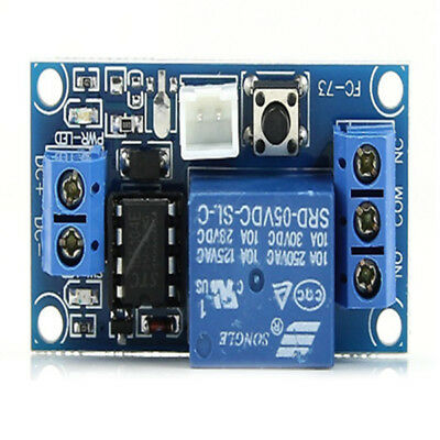 FP 5V 1 Channel Latching Relay Module with Touch Bistable Switch MCU Control Blu