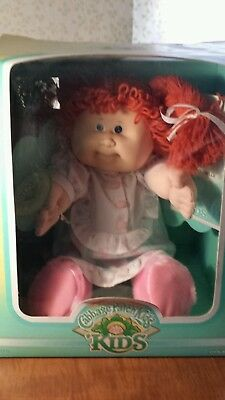 1987? RARE Cabbage Patch Kid Red Hair Blue Eyes Missing tooth Alana Jessibelle