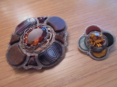 antique silver brooches