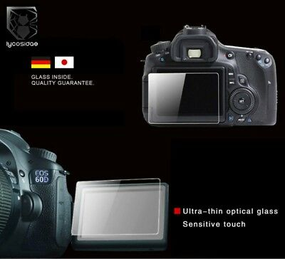 PT6 9H Tempered Glass HD Screen Protector for Canon EOS 1100D Kiss X50 Camera