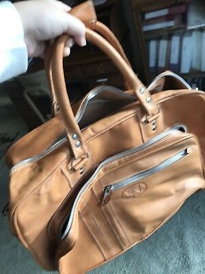 Chaco Natural Leather Weekender Bag