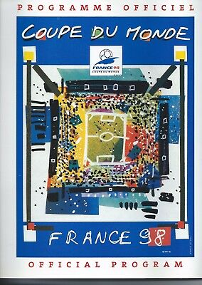 France 98 Coupe du Monde Official Programme (French)