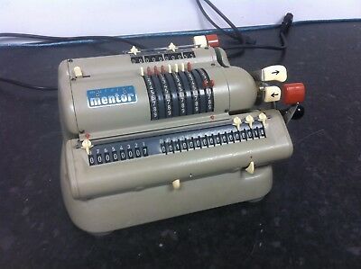 Muldivo Mentor Vintage Calculating Machine