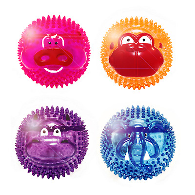 Multipet Bouncy Burrow Buddies Babies Assorted Dog Toys, 8-Inch