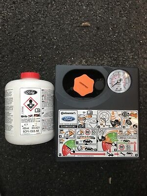 BRAND NEW Continental Ford compressor and tyre sealant tyre repair kit