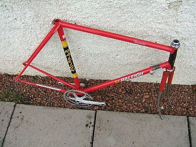 Vintage Raleigh Team Competition Frame Reynolds 531 22 ins campag headset