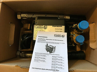 Stuart Turner Monsoon Standard 3.0 Bar Single Impeller Shower Pump - 46419