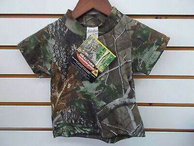 Infant & Toddler Boys Realtree Camo Short Sleeved T-Shirt Size 0/6 Months - 6/7