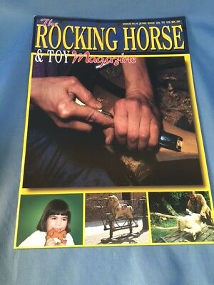 Rocking Horse Magazine Book Issue 4 Making Restoring History Of Lines Toy Horses