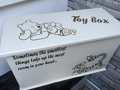 Tigger Personalised Children's Toy Box / Chest / Storage