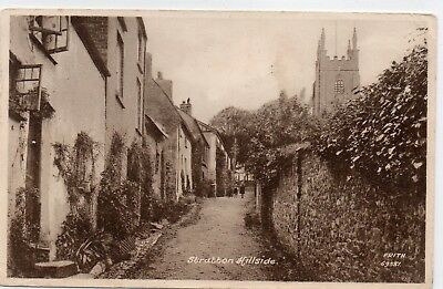 Cornwall postcard. Stratton Hillside. children. Frith.