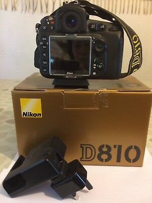 Nikon D D810 36.3MP Digital SLR Camera - Black (Body Only) with box