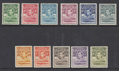 BASUTOLAND KGVI 1938 Set of 11 Values Scott 18-28 SG18-28 - MNH