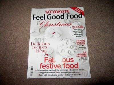 Feel Good Food Magazine.Woman&Home.Christmas 2010.Xmas lunch & all the trimmings