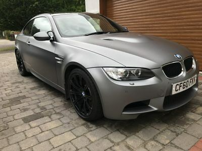 2011 Individual Frozen Grey E92 M3 DCT with Novillo Black Leather