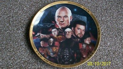 The Best Of Both Worlds  - Star Trek Collectors Plate
