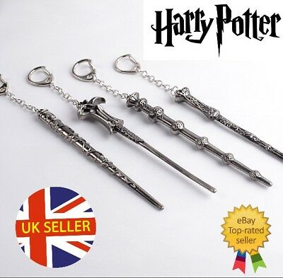 Harry Potter Wand Keyring Kids Loot Party Bag Fillers Boys Girls School 1