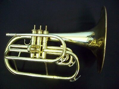 Dynasty Marching F Mellophone  Lake Geneva Usa + Case Being Sold 'as Is'
