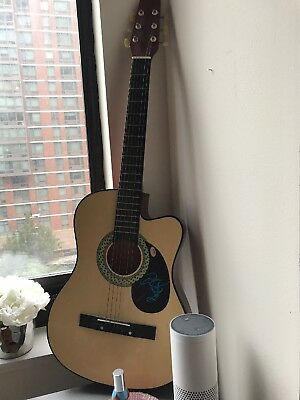Tyson Ritter The All American Rejects authentic signed guitar