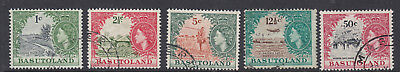 Basutoland Sg69-78 1961 Definitives - 1C To 50C Fine Used