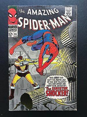 The Amazing Spider-Man #46 - SD Lot 1st App. of Shocker Homecoming ASM Spidey