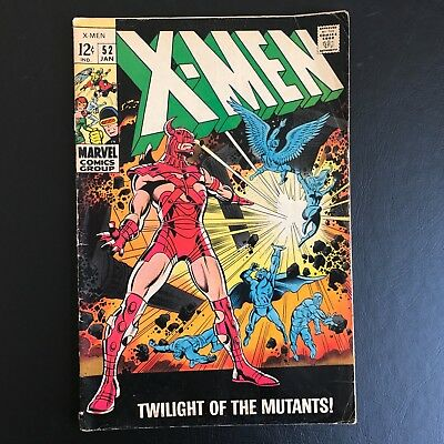 The X-Men #52 Collection Uncanny 1st appearance of Erik the Red Marvel Stan Lee
